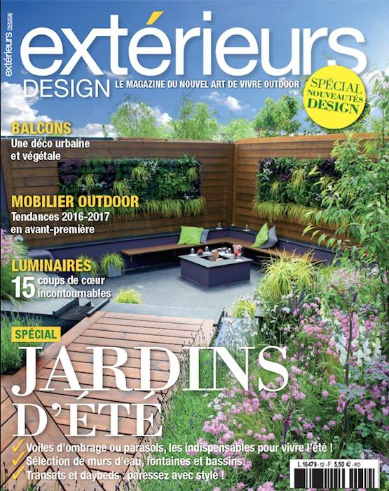 EXTERIEURS DESIGN n°52 – JUILLET 2016