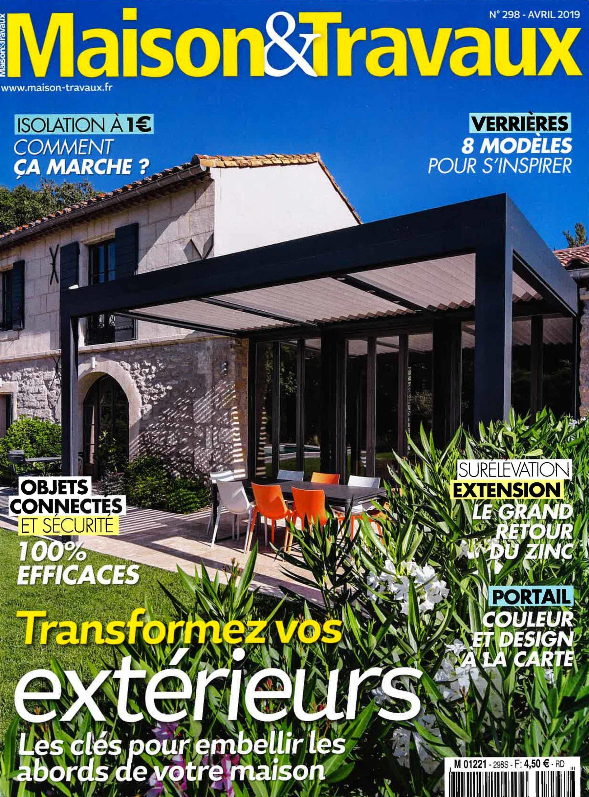MAISON & TRAVAUX N°298 – AVRIL 2019