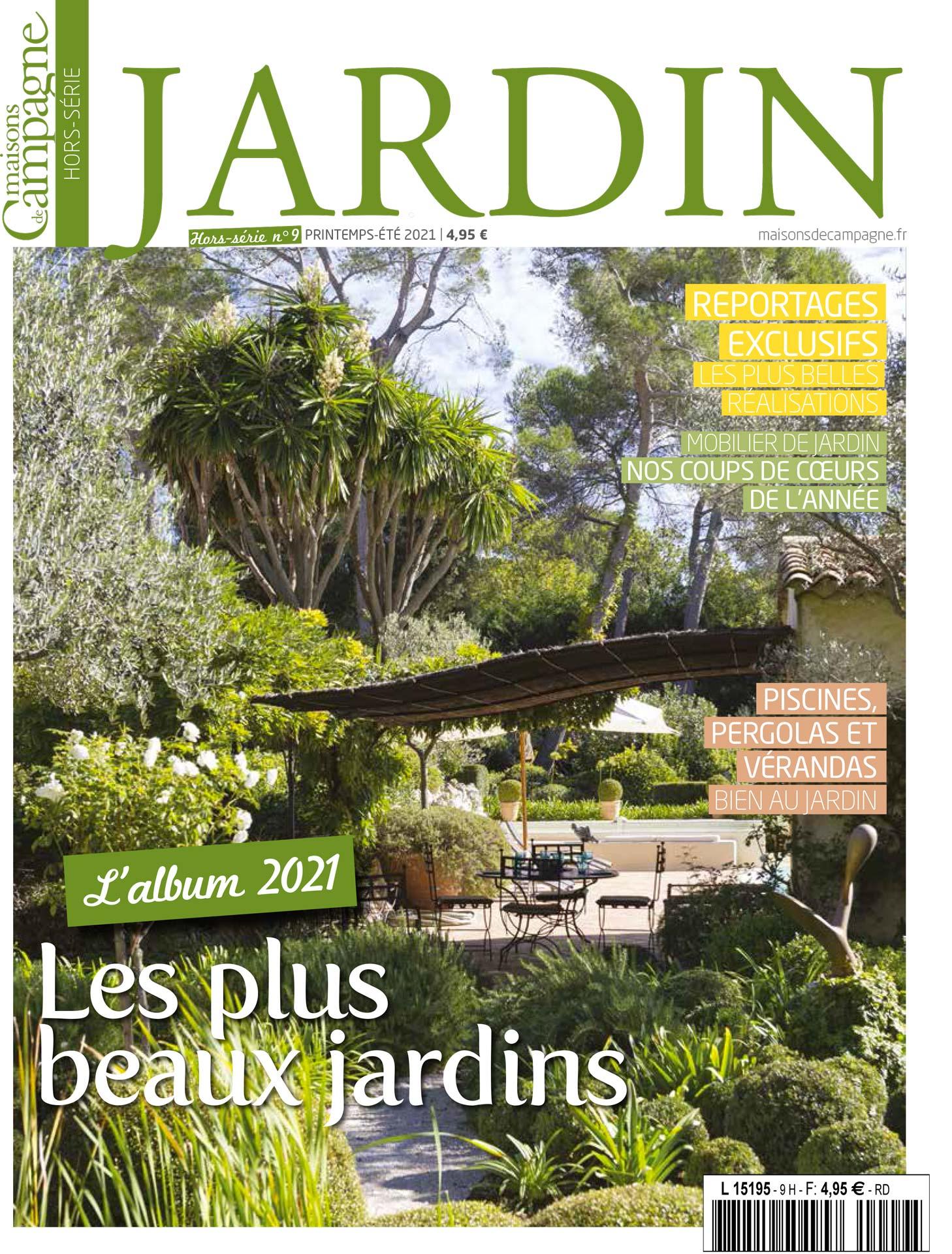 MAISONS DE CAMPAGNE – Hors série Jardin 2021
